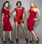 Sugababes: l-r. Amelle, Keisha, Heidi